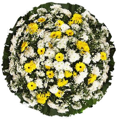 Modelo 01 – Coroa de flores