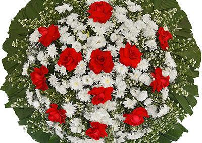 Modelo 02 – Coroa de flores