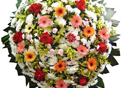 Modelo 04 – Coroa de flores
